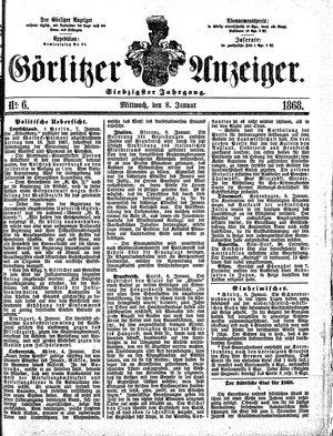Görlitzer Anzeiger vom 08.01.1868