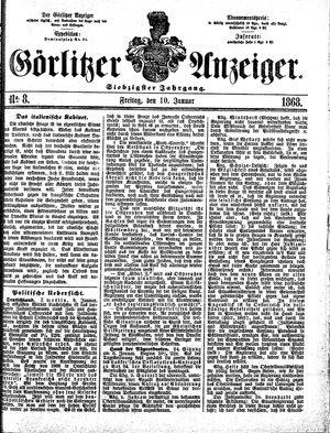 Görlitzer Anzeiger vom 10.01.1868