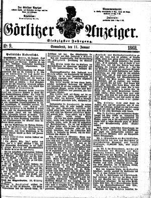 Görlitzer Anzeiger vom 11.01.1868