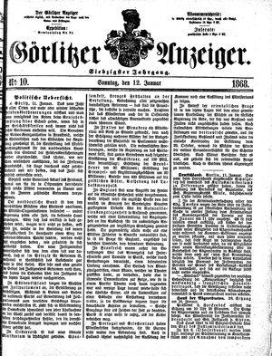 Görlitzer Anzeiger vom 12.01.1868