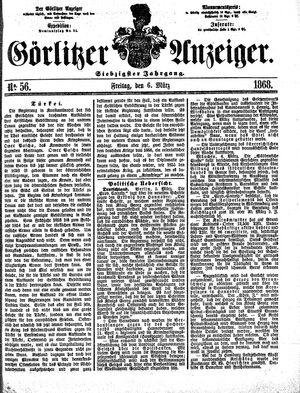 Görlitzer Anzeiger vom 06.03.1868