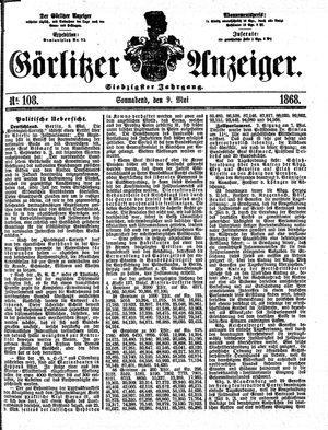 Görlitzer Anzeiger vom 09.05.1868