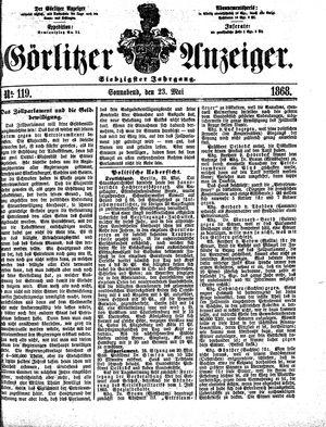 Görlitzer Anzeiger vom 23.05.1868