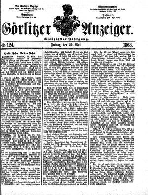 Görlitzer Anzeiger vom 29.05.1868