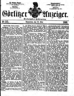 Görlitzer Anzeiger vom 30.05.1868