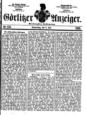 Görlitzer Anzeiger vom 09.07.1868
