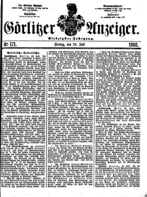 Görlitzer Anzeiger vom 24.07.1868