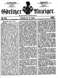 Görlitzer Anzeiger (19.08.1868)