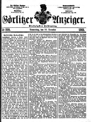 Görlitzer Anzeiger on Dec 10, 1868