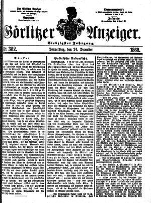 Görlitzer Anzeiger vom 24.12.1868