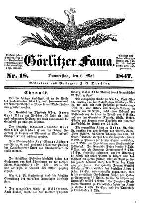 Görlitzer Fama vom 06.05.1847