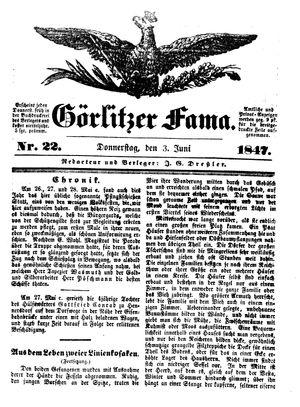 Görlitzer Fama vom 03.06.1847