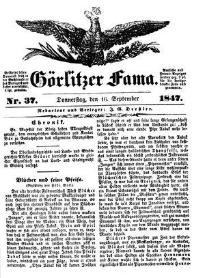 Görlitzer Fama vom 16.09.1847