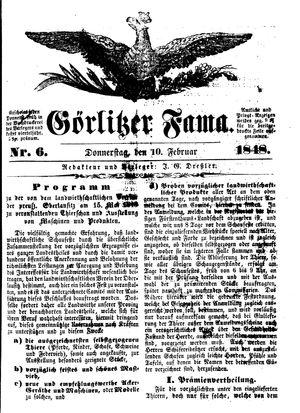 Görlitzer Fama vom 10.02.1848