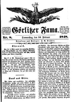 Görlitzer Fama vom 24.02.1848