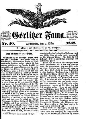 Görlitzer Fama on Mar 9, 1848