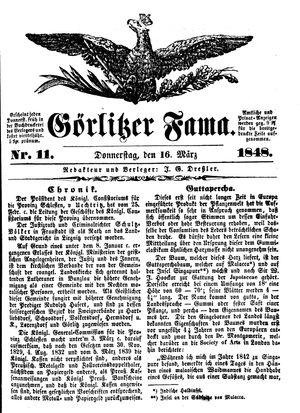 Görlitzer Fama vom 16.03.1848