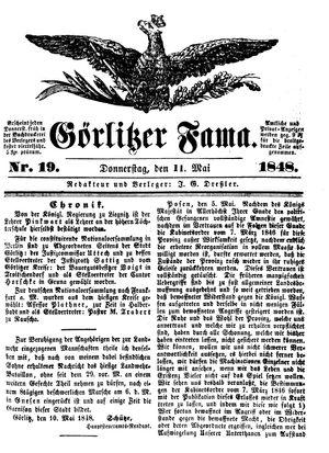 Görlitzer Fama vom 11.05.1848