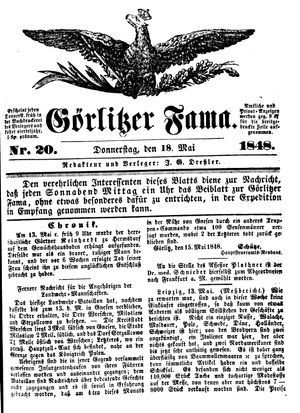Görlitzer Fama vom 18.05.1848
