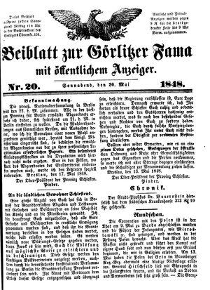 Görlitzer Fama vom 20.05.1848