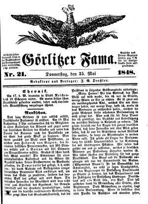 Görlitzer Fama vom 25.05.1848