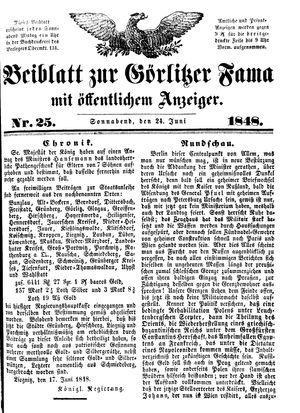 Görlitzer Fama vom 24.06.1848