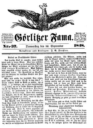 Görlitzer Fama on Sep 14, 1848