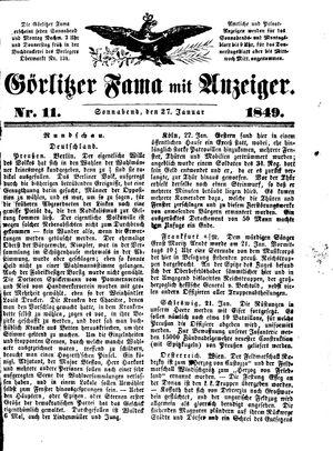 Görlitzer Fama vom 27.01.1849