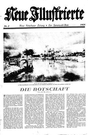 Neue Vetschauer Zeitung vom 10.01.1925