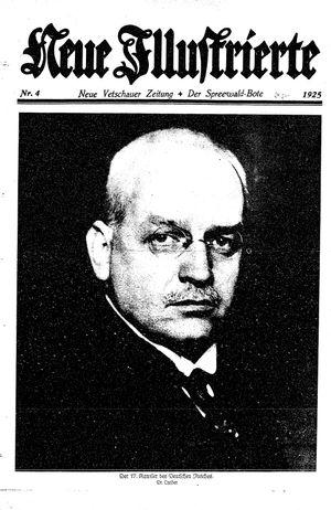 Neue Vetschauer Zeitung vom 24.01.1925