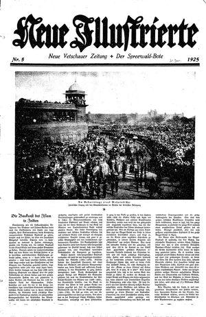 Neue Vetschauer Zeitung vom 31.01.1925