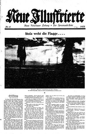 Neue Vetschauer Zeitung vom 07.02.1925
