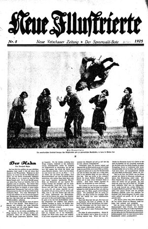Neue Vetschauer Zeitung vom 21.02.1925