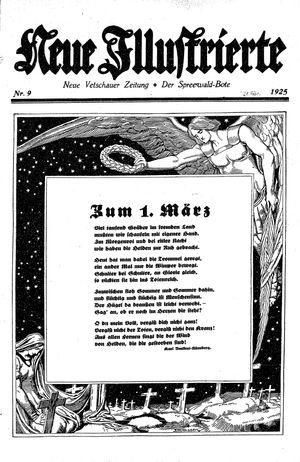 Neue Vetschauer Zeitung on Feb 28, 1925