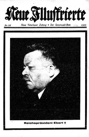 Neue Vetschauer Zeitung vom 07.03.1925