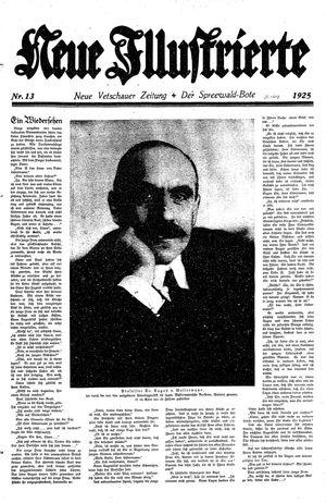 Neue Vetschauer Zeitung vom 28.03.1925