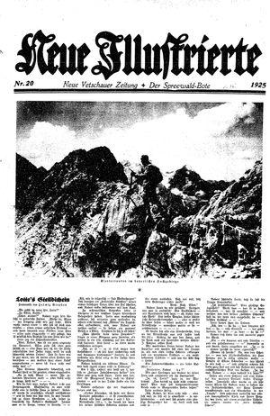 Neue Vetschauer Zeitung vom 16.05.1925
