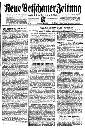 Neue Vetschauer Zeitung vom 01.05.1942