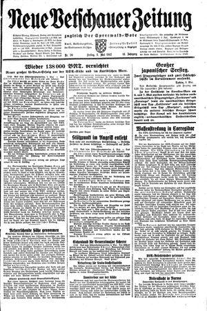 Neue Vetschauer Zeitung on May 8, 1942