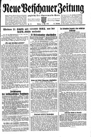Neue Vetschauer Zeitung vom 11.05.1942
