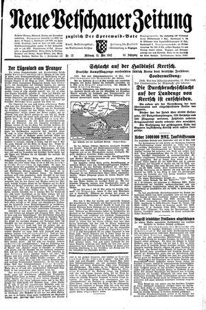 Neue Vetschauer Zeitung on May 13, 1942