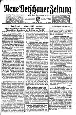 Neue Vetschauer Zeitung vom 15.05.1942