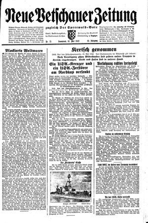Neue Vetschauer Zeitung vom 16.05.1942