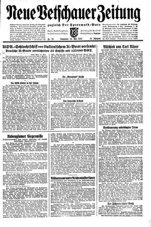 Neue Vetschauer Zeitung vom 23.05.1942