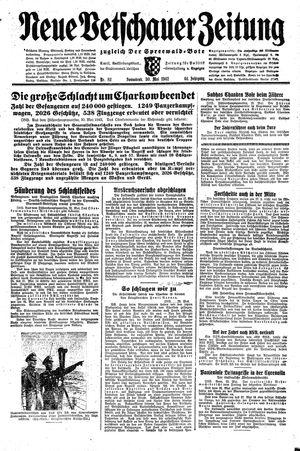 Neue Vetschauer Zeitung vom 30.05.1942