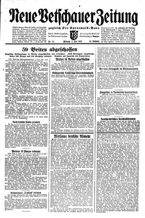 Neue Vetschauer Zeitung vom 03.06.1942