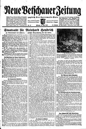 Neue Vetschauer Zeitung vom 10.06.1942