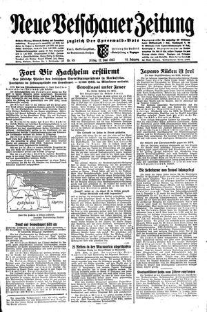Neue Vetschauer Zeitung vom 12.06.1942