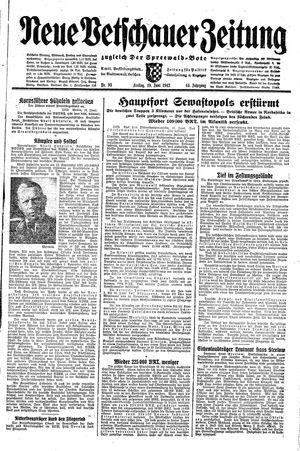 Neue Vetschauer Zeitung vom 19.06.1942