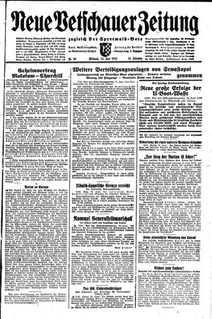 Neue Vetschauer Zeitung vom 24.06.1942